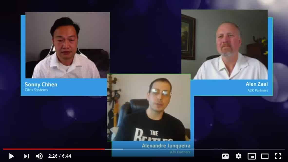 Citrix Virtual Hackathon Product Innovation winner interview - A2K Partners